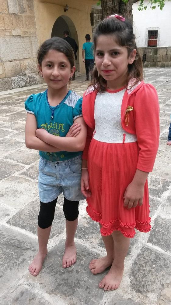 pikkutytöt poseeraavat pieni (2)
