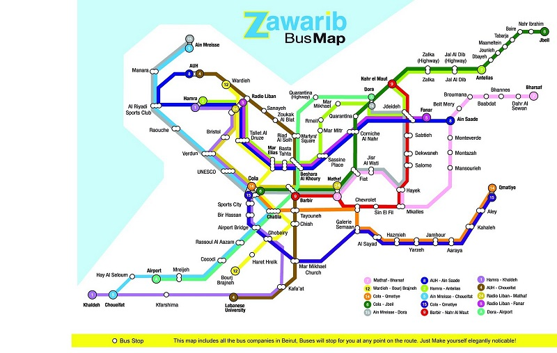 carte-des-lignes-de-bus-au-liban-zawarib