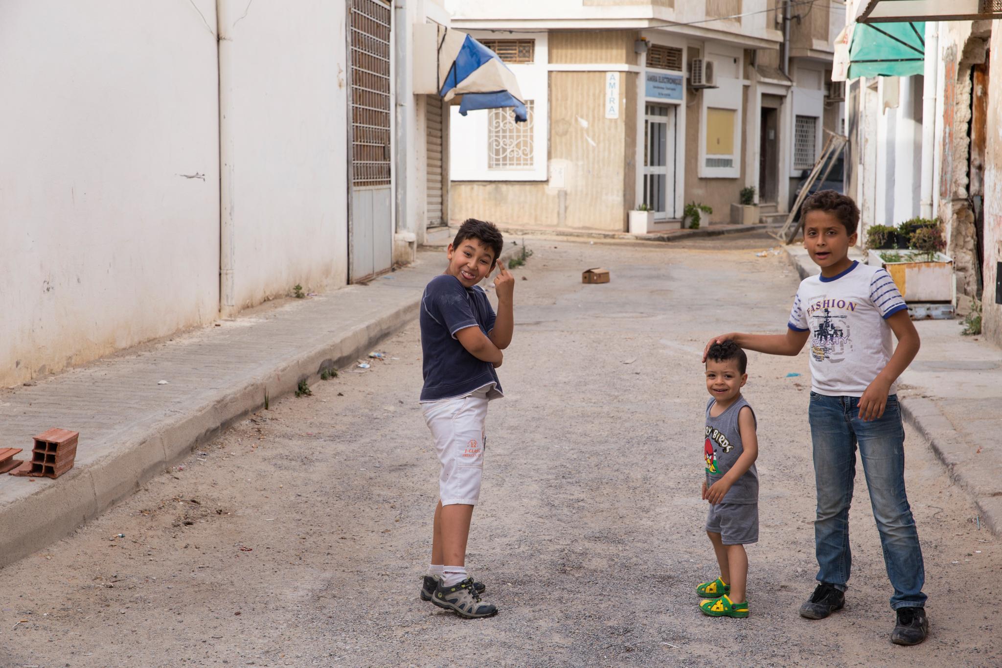 Kolme poikaa Soussessa