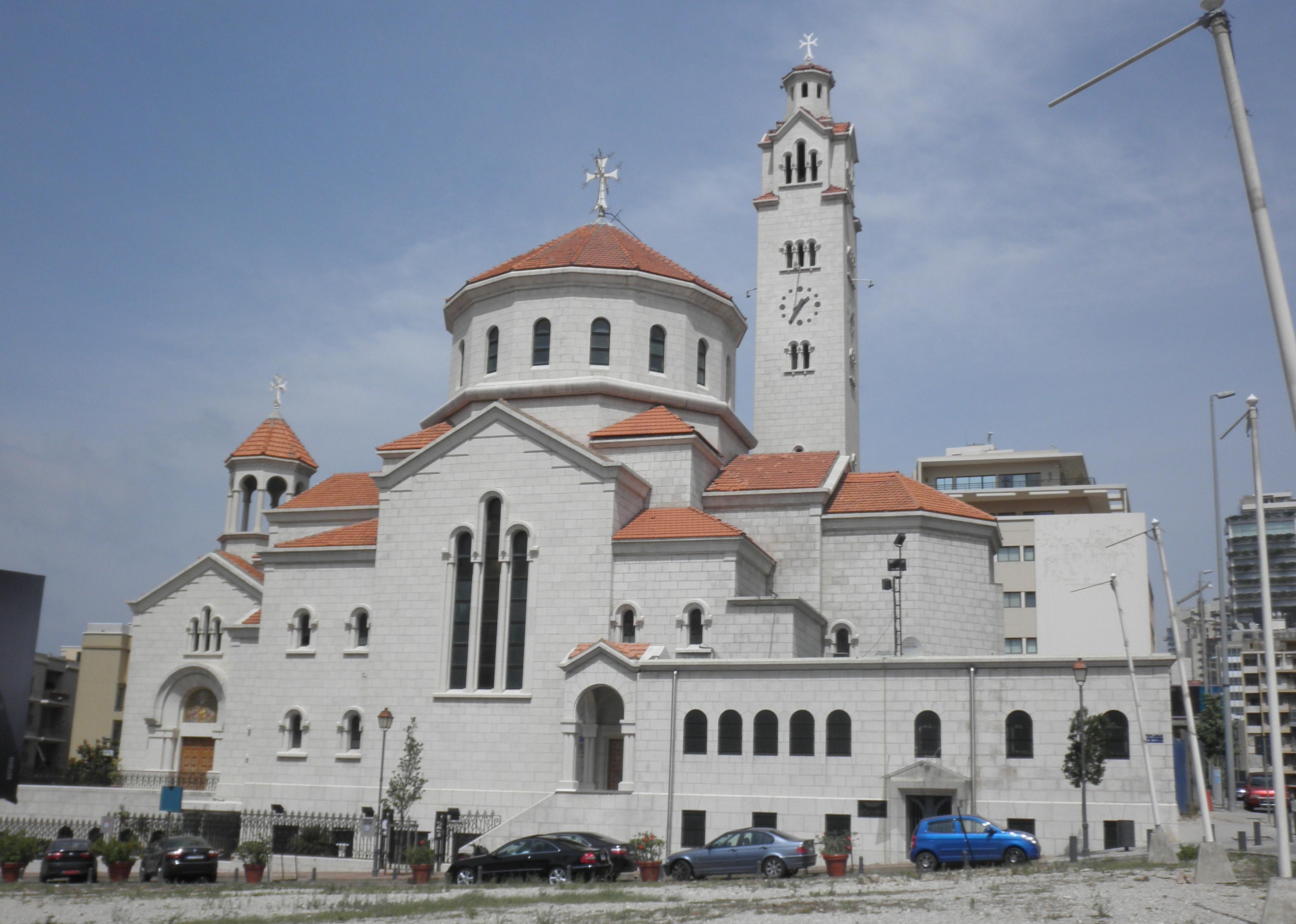 Pyhän Eliaksen ja Pyhän Gregorios Valontuojan katedraali Beirutissa kuuluu armenialaiskatoliselle seurakunnalle.