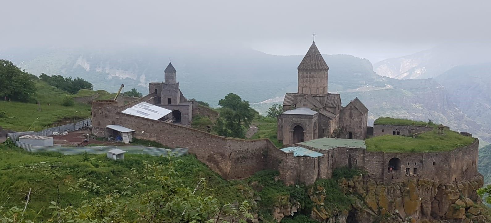 Tatevin luostari Armenian vuorilla