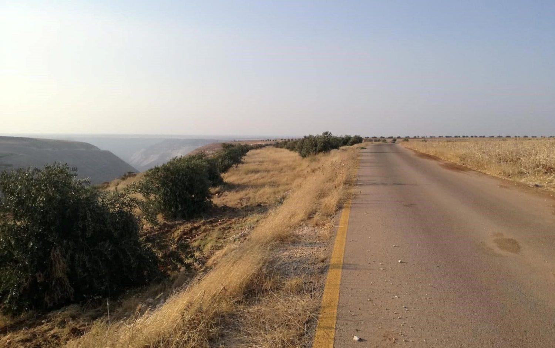 Näkymä Syyrian Daraan suuntaan