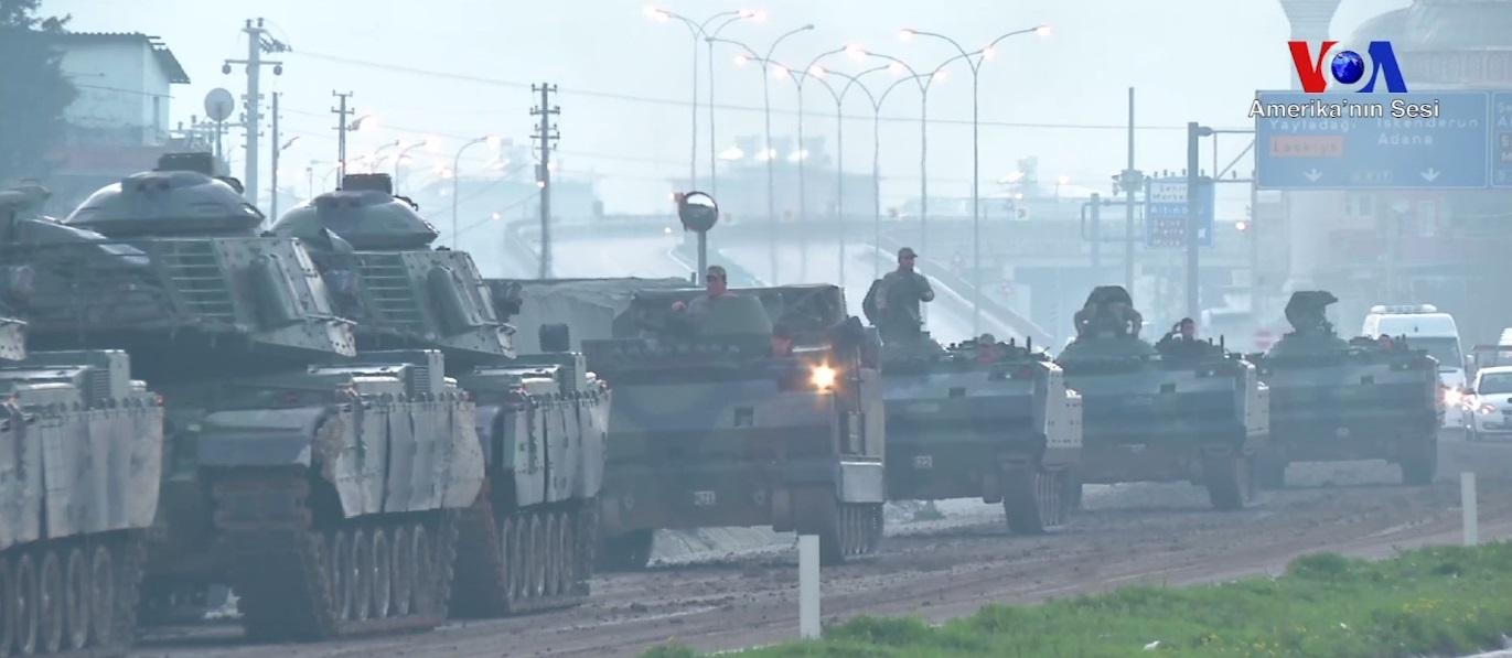 Turkin armeijan tankkeja