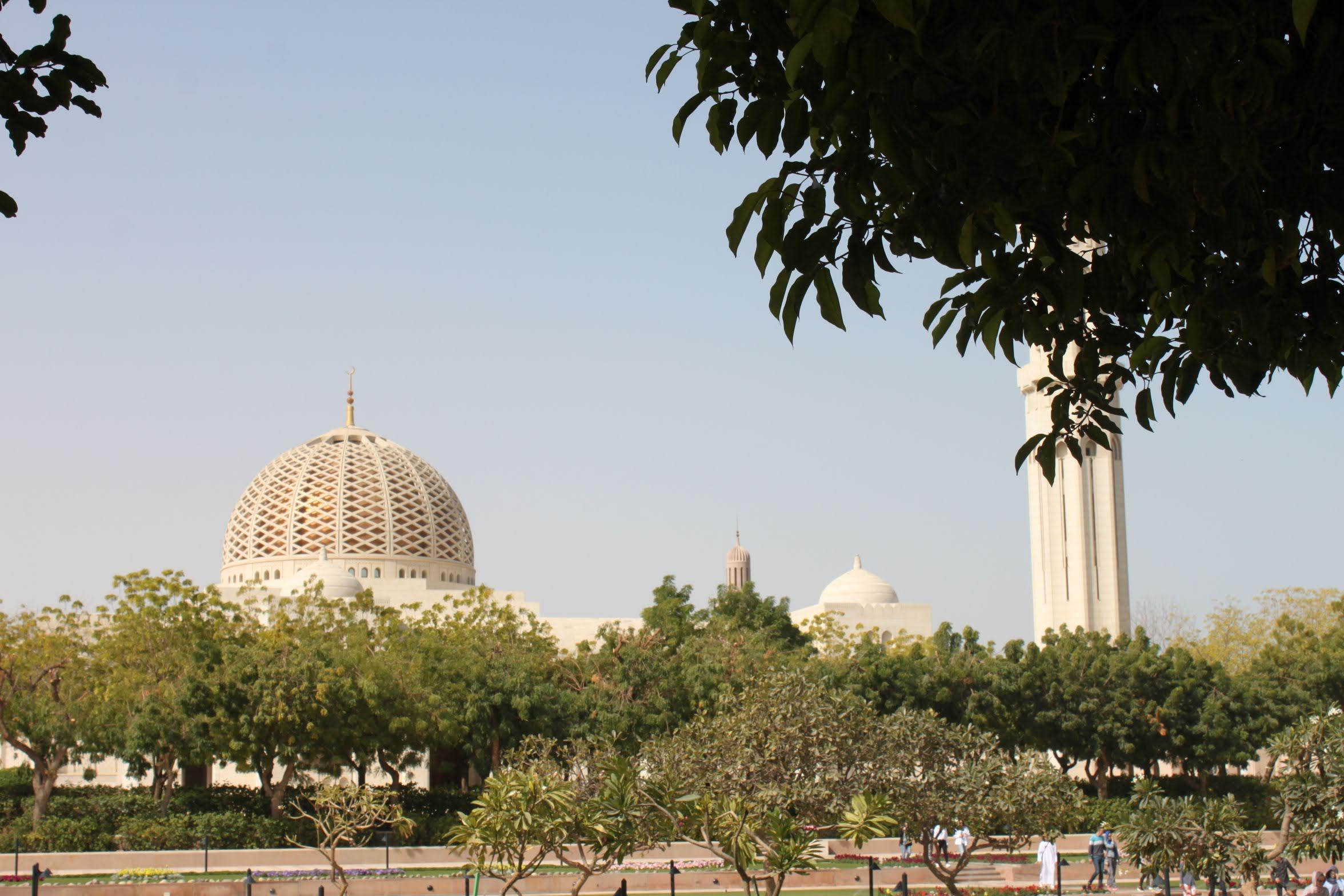 Qaboosi-moskeija Omanin Muscatissa
