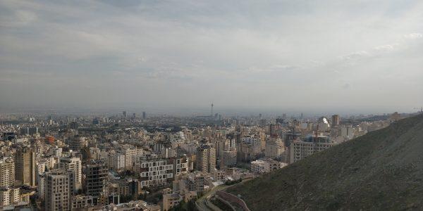Näkymä Teheranissa
