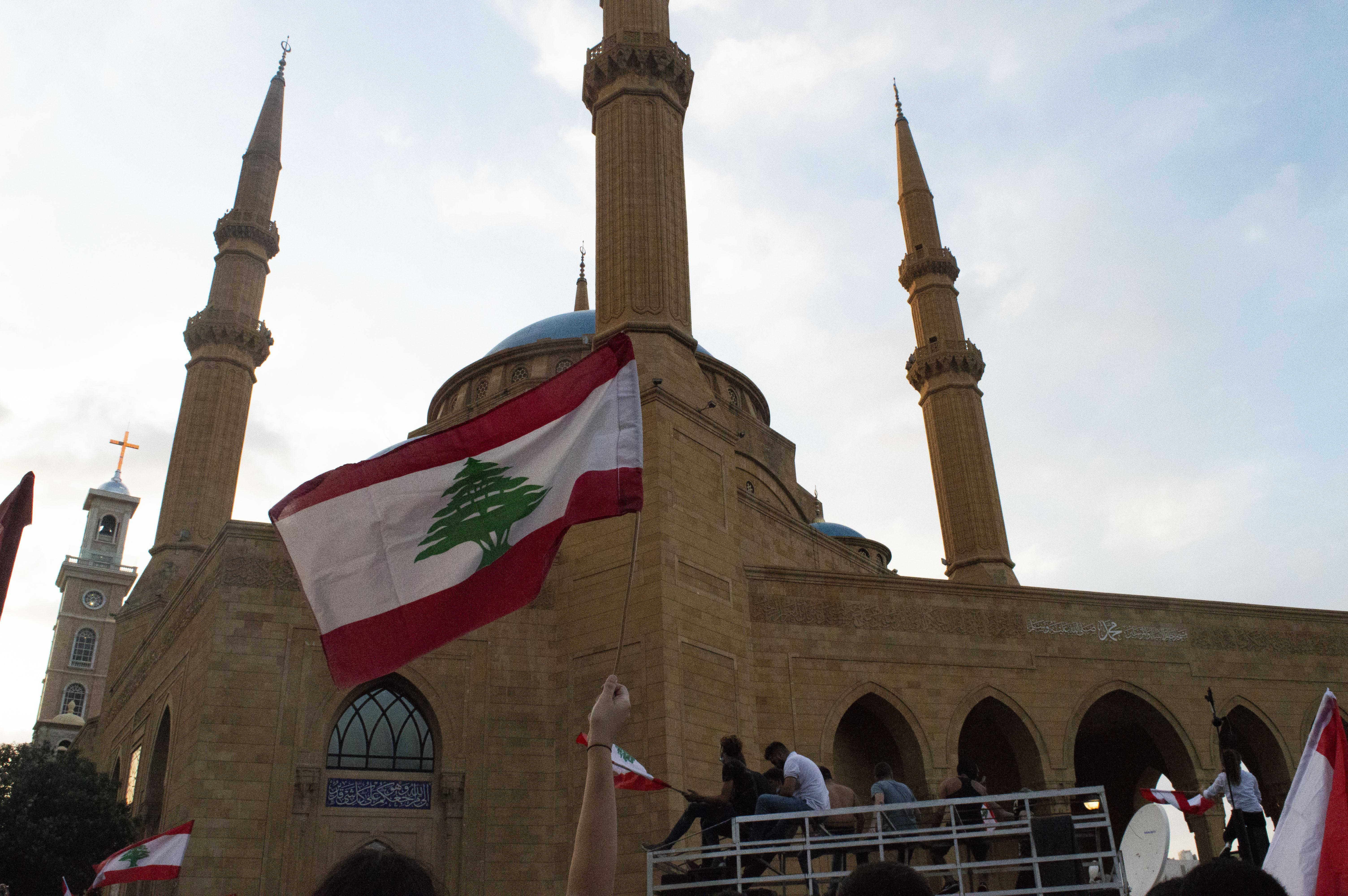 moskeija ja lippu
