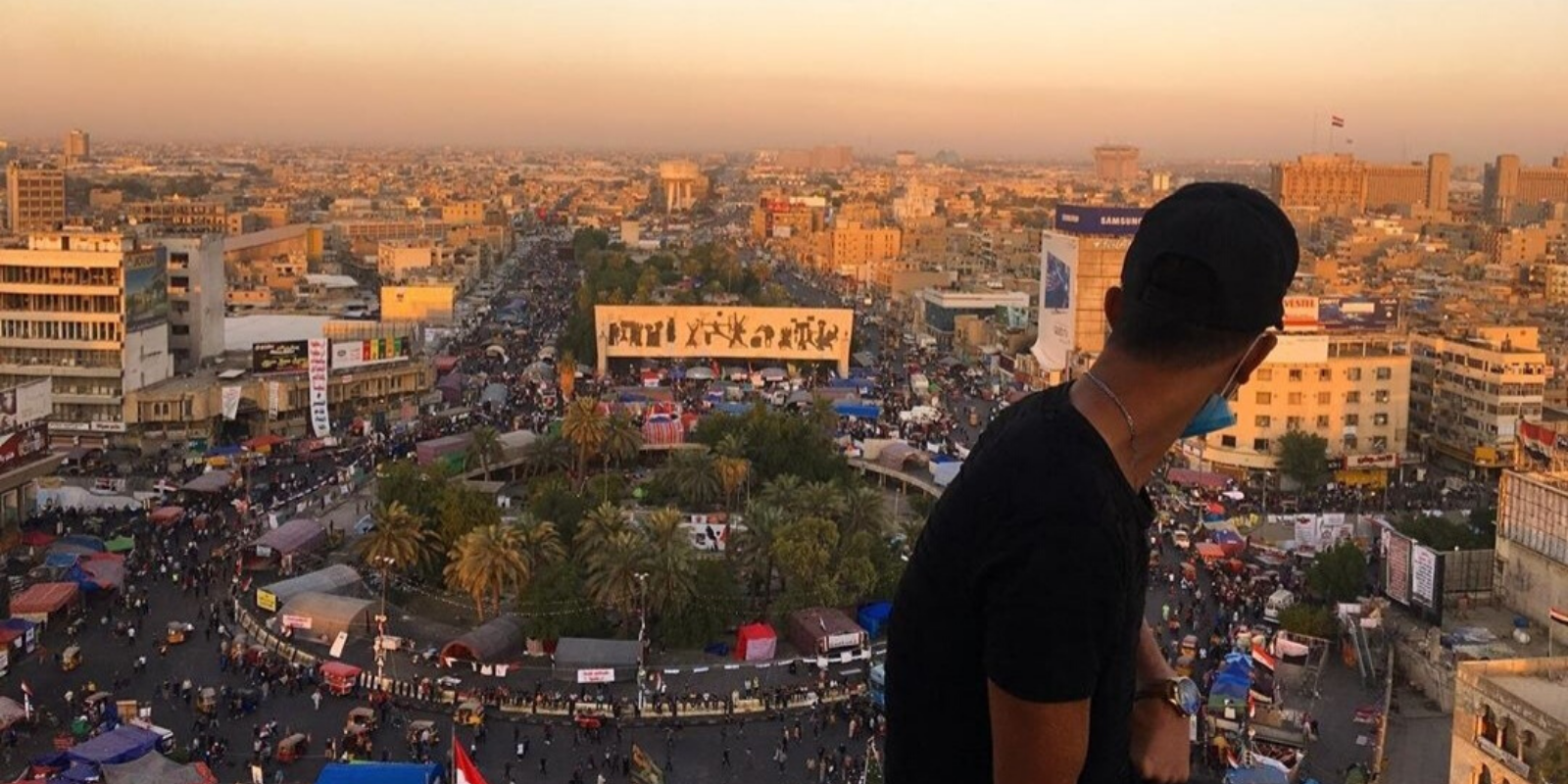 näkyvä Bagdadissa