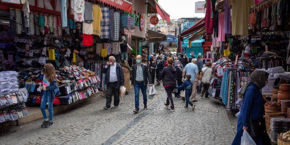 Turkissa katunäkymä
