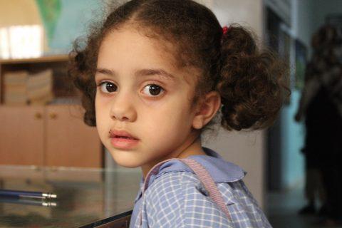 palestiinalaistyttö