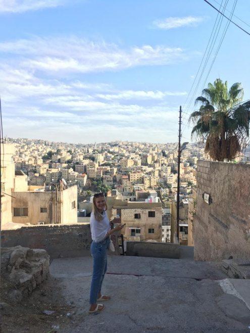 Leena Sillanpää Ammanissa