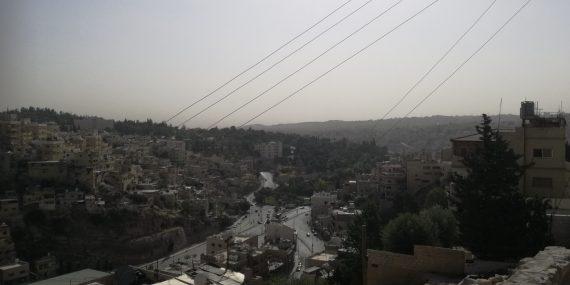 Amman yläviistosta