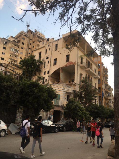 Kaduilla siivotaan, Beirut