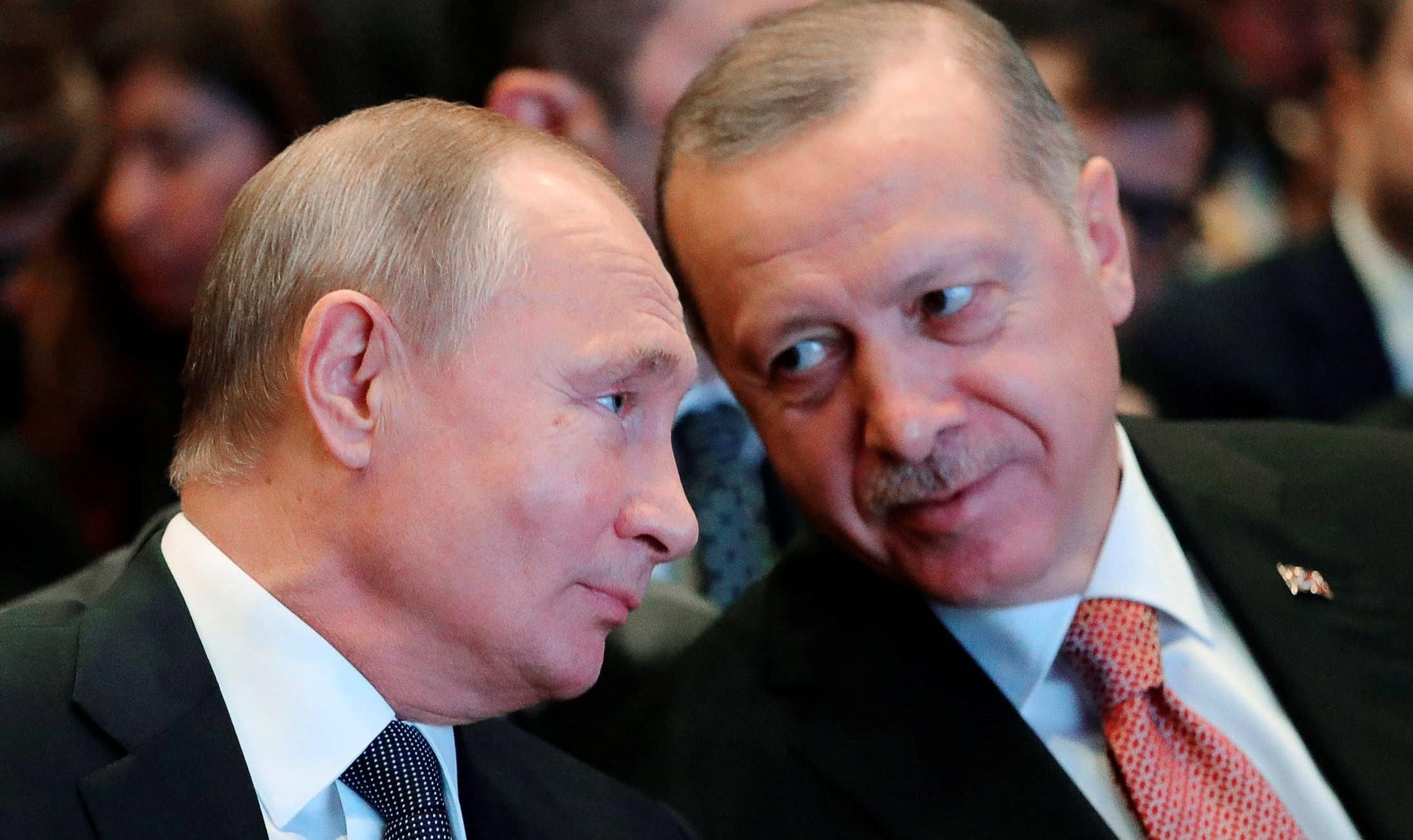 Putin ja Erdogan tapaavat