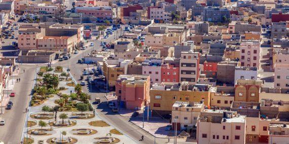 Kaupunkikuva Dakhla